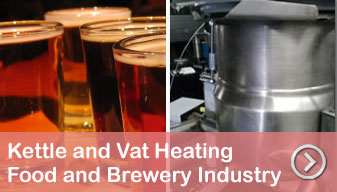 Using steam or hot air for vats