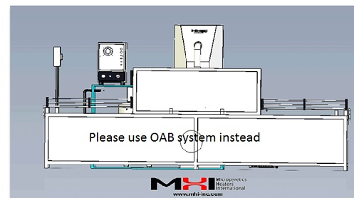 Please use OAB based system for water and energy saving where feasible